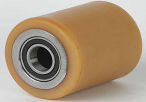 Предлагаем ролики полиуретановые с подшипником тип R