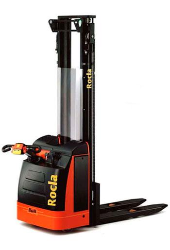 Штабелер электрический самоходный Rocla ремонт в Евросклад