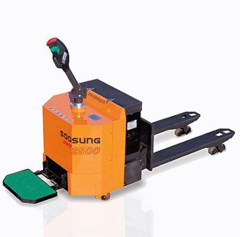 Тележка электрическая (самоходная) Soosung SWP (Корея) ремонт в Евросклад