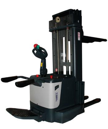 Штабелер электрический самоходный  TISEL Technics ремонт в Евросклад